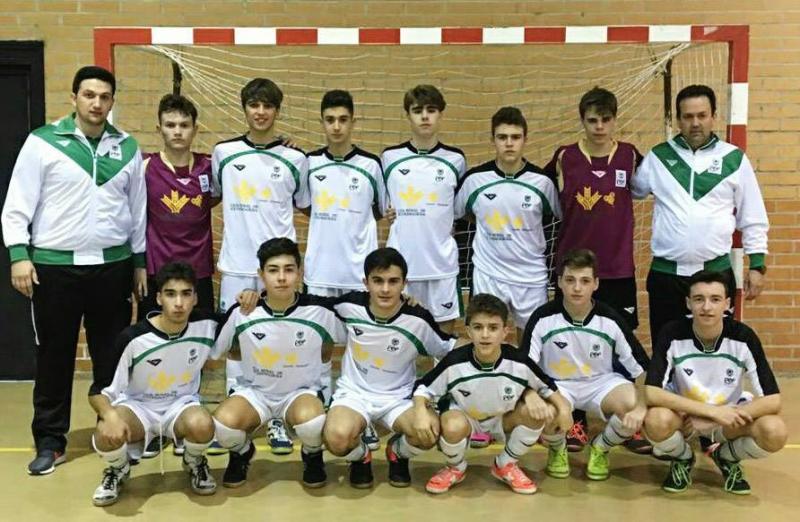 c8c1893989e14 CONVOCATORIA DEFINITIVA SELECCIÓN FÚTBOL SALA CADETE Extremadura jugará  este fin de semana la 1ª Fase del Campeonato de España Sub-16.